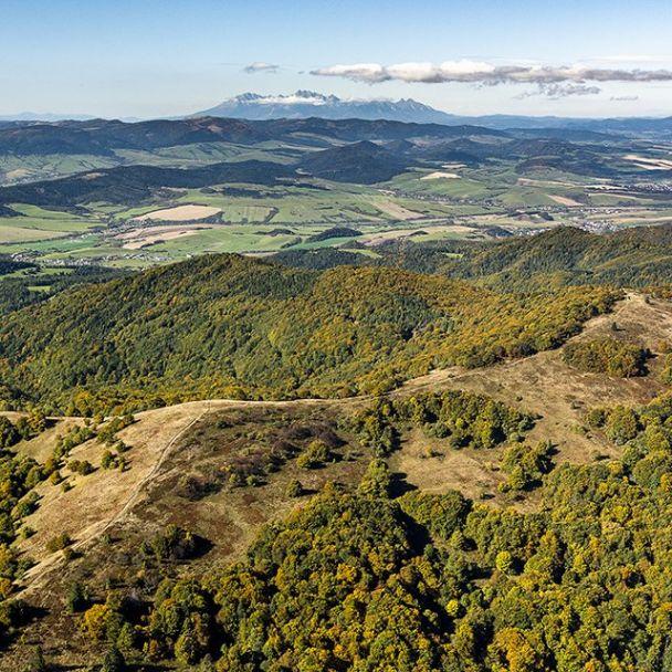 Letecké snímky obce