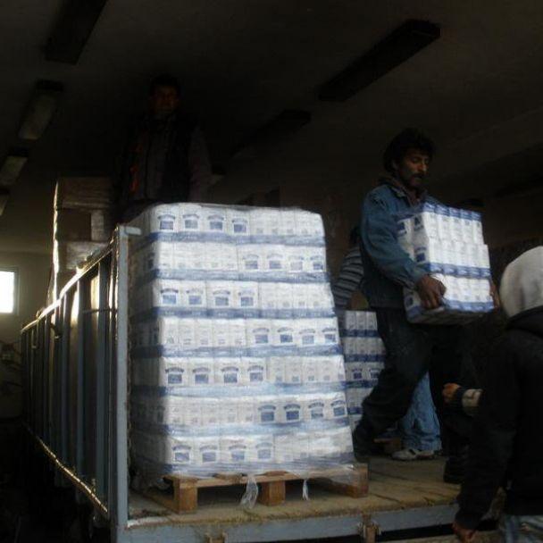 November - potravinová pomoc