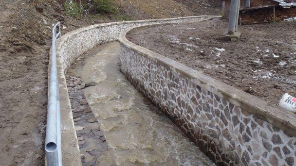 Potok Hradlová-protipovodňová ochrana intravilánu obce Kyjov